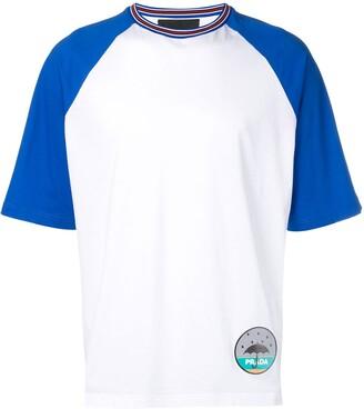 Prada loose-fit patch T-shirt