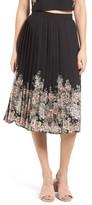 June & Hudson Women's Pleated Skirt