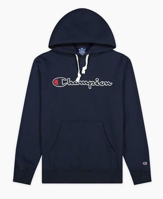 Champion Cotton Logo Hoodie