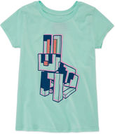Asstd National Brand Short Sleeve Crew Neck T-Shirt-Big Kid Girls
