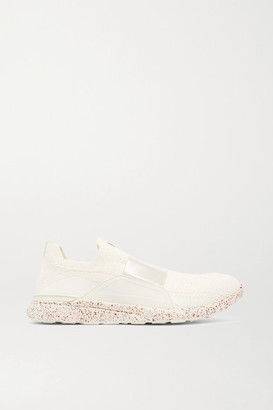 APL Athletic Propulsion Labs Techloom Bliss Mesh And Neoprene Sneakers - Ivory