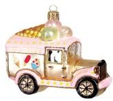 Nordstrom Ice Cream Truck Glass Ornament
