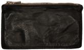 Guidi Black Zip Wallet