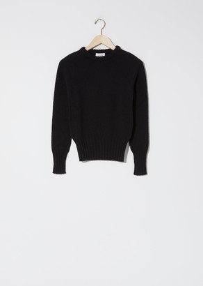 Lemaire Fitted Sweater Black