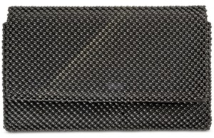 INC International Concepts I.n.c Prudence Shiny Mesh Clutch, Created for Macy's