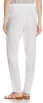 Eileen Fisher Petites Slouchy Organic Linen Pants