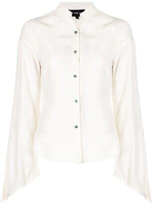 Lisa Von Tang Split Sleeve Shirt