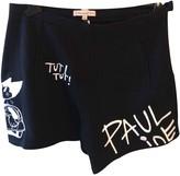 Paul & Joe Sister Black Cotton Shorts for Women