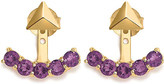 MISSOMA LTD 18ct yellow-gold and amethyst jacket earrings