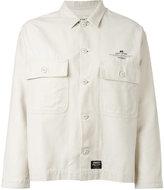 Carhartt patch pocket shirt jacket - women - Cotton - XS
