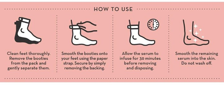 Thumbnail for your product : Karen Millen Seoulista Beauty Rosy Toes Pedicure Mask