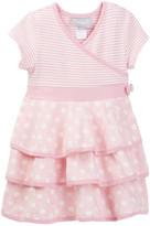 Coccoli Stripe & Polkadot Dress (Baby Girls)