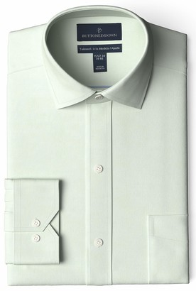 Buttoned Down Amazon Brand Tailored Fit Spread-collar Pinpoint Non-iron Dress Shirt