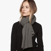 James Perse Lightweight Cashmere Rib Scarf