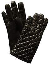 Valentino Rockstud Spikes Cashmere-lined Leather Gloves.