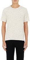 Barneys New York MEN'S DONEGAL-EFFECT COTTON-BLEND T-SHIRT