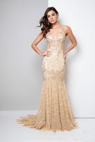 Terani Couture Embellished Mermaid Gown 1711GL3526