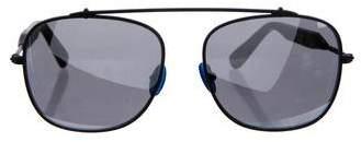 Westward Leaning Westward\\Leaning Reflective Aviator Sunglasses