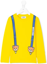 Moschino Kids printed sweatshirt