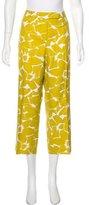 MICHAEL Michael Kors High-Rise Wide-Leg Pants