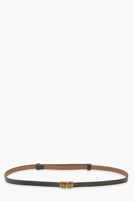 boohoo Chunky Link Detail Waist Belt