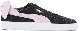 Puma Suede Bow Dots Trainers