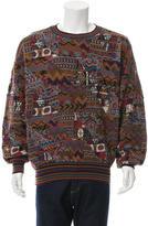 Missoni Patchwork Crew Neck Sweater