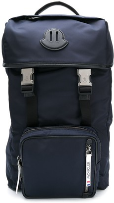Moncler Large Buckle-Fastened Utility Backpack