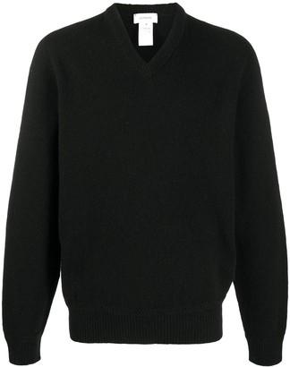 Lemaire V-neck wool jumper