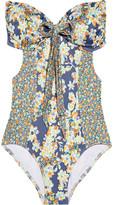 JETS by Jessika Allen Prairie cutout bandeau swimsuit