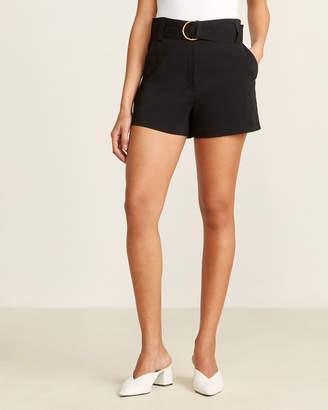 A.L.C. Black Clive Dressy Shorts