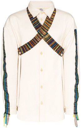 Bethany Williams Tent woven cotton shirt