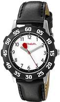 Red Balloon Kids' W000350 Tween Stainless Steel Bezel Leather Strap Watch