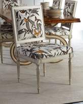 Ambella Augustus Quatrefoil Side Chair
