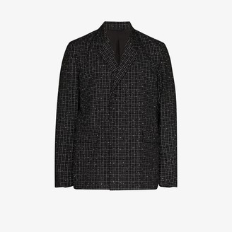 Nulabel Reflector checked tweed blazer
