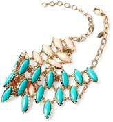 Amrita Singh Women's Marquis Reversible Bib Necklace