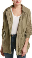 Romeo & Juliet Couture Embroidered Cargo Jacket