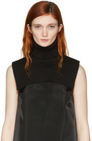 MM6 Maison Martin Margiela Black Turtleneck Collar