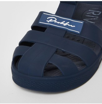 River Island Boys Prolific Jelly Sandals -Navy