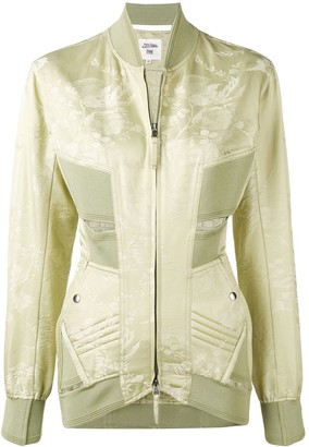 Jean Paul Gaultier Pre Owned Fitted Cut Out Detailing Jacket