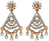 J.Crew Magic Snowflower Earrings (Crystal) Earring