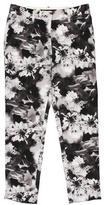 Barbara Bui Floral Print Skinny Pants