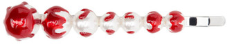 SHUSHU/TONG White and Red YVMIN Edition Hair Clip