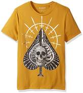 GUESS Men's Short Sleeve Basic All Aces Crew Tee