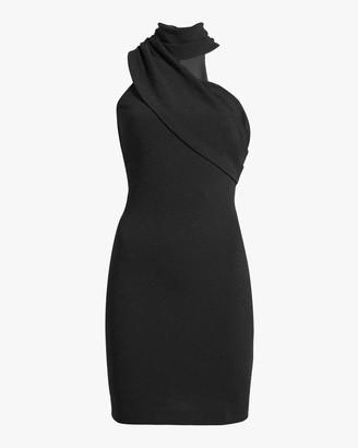 ONE33 SOCIAL Front Drape Cocktail Dress
