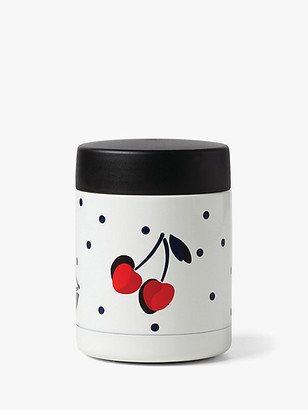 Kate Spade Vintage Cherry Dot Insulated Food Container