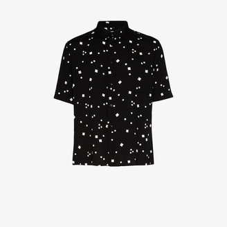 Saint Laurent Square Print Shirt