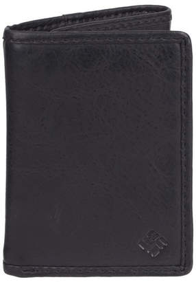 Columbia Skinny Trifold Rfid Leather Men Wallet
