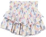 Splendid Allover Print Ruffle Skirt (Big Girls)