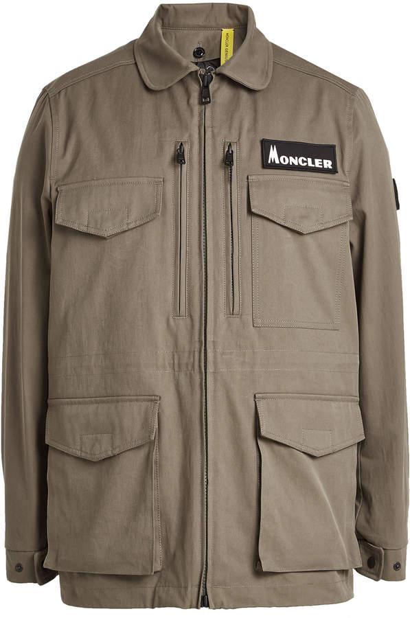 85574732c Genius 7 Fragment Hiroshi Fujiwara Zipped Jacket with Down